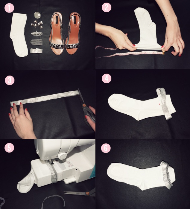 diy socks explication