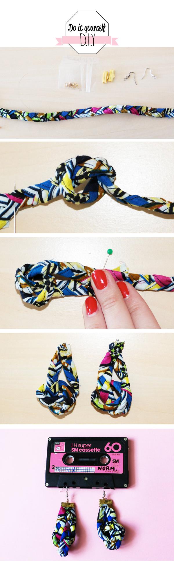 DIY boucles d'oereilles