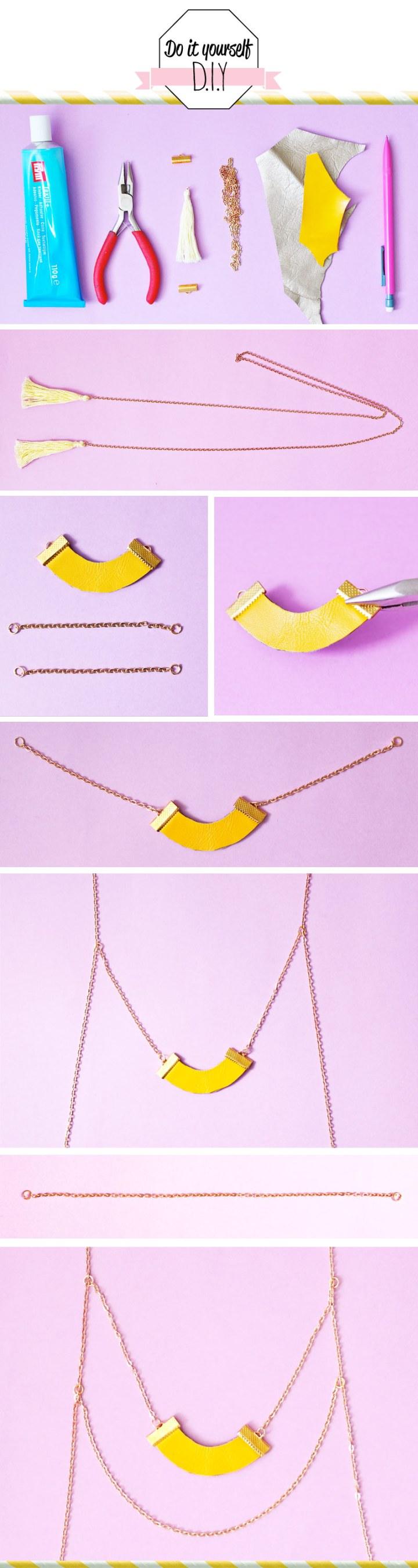 diy-collier-jaune