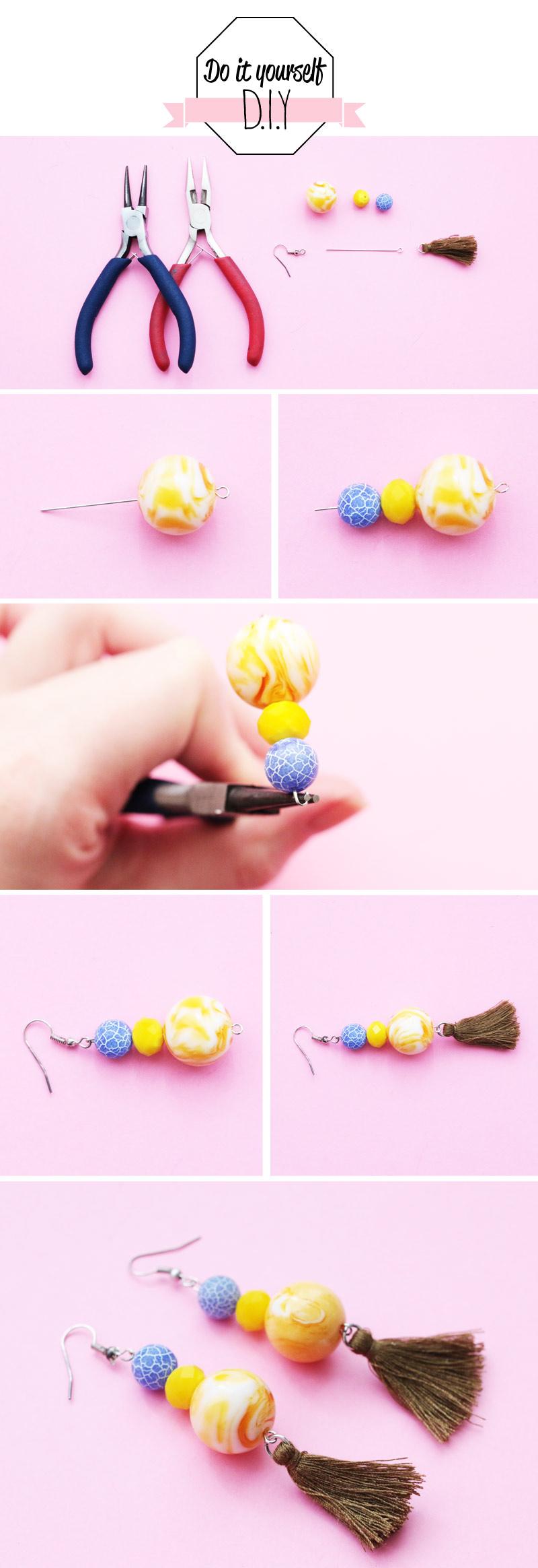 diy-bracelet-double-pompon