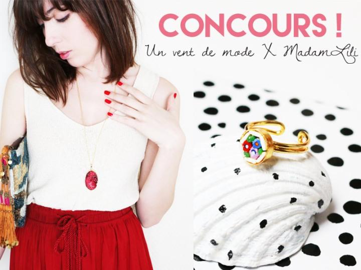 Look bijoux : MadamLili + CONCOURS gagnez un de mes bijoux coup de coeur!