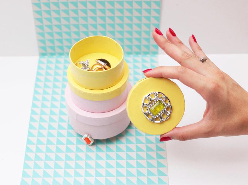design intemporel 37eb4 f82d2 DIY déco : Une boite à bijoux chic et choc