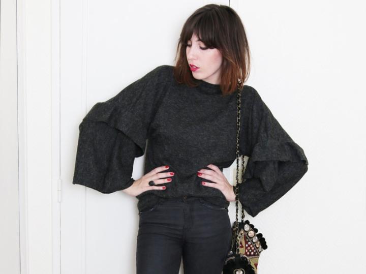 Un pull kimonofacile