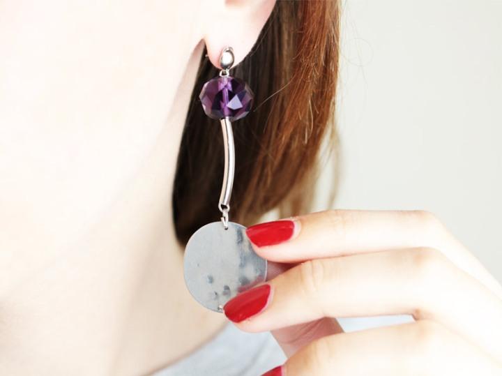 DIY bijoux : des boucles d'oreilles designchic
