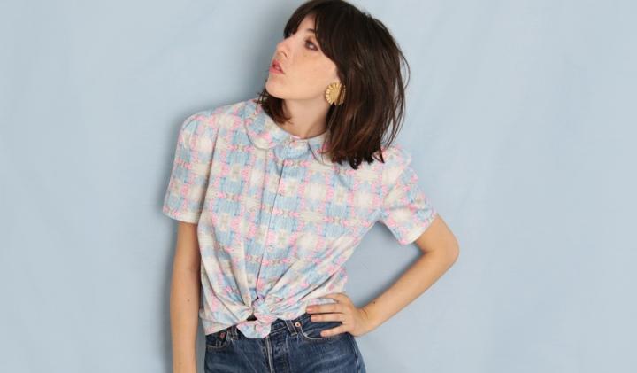 Couture mode : Une chemise avec mon tissus à motifpersonnalisé