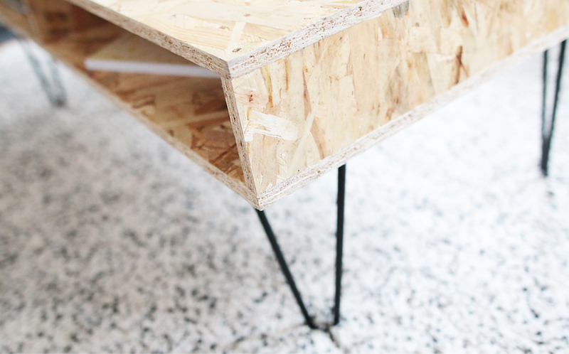 Diy Deco Realiser Une Table Basse Design En Bois Osb