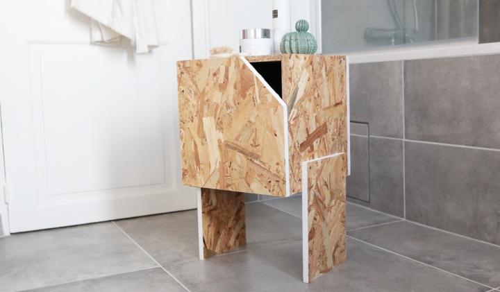 DIY déco : un meuble à tiroir pour ma salle debain