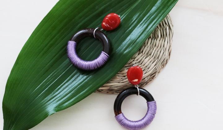 DIY bijoux : Mes boucles d'oreilles enbois